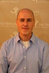 Gilad Peleg Lorberbaum, directeur associé de Corundum Open Innovation, à l'origine de Joy Ventures. (Crédit : Naor Swartz)