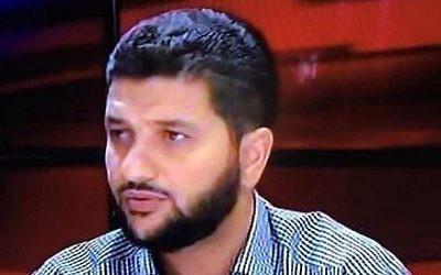Ibrahim Hijazi, député de la Liste arabe unie entre le 20 septembre et le 23 octobre 2017, mandat le plus court de l'histoire de la Knesset. (Crédit : site internet de la Knesset)