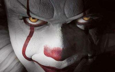 """Une image  du film """"Ça"""", qui aurait inspiré le phénomène des clowns effrayants en Israël, à l'automne 2017. (Crédit : capture d'écran Youtube)"""