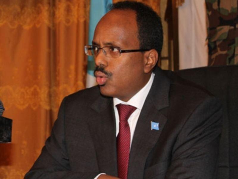 Mohamed Abdullahi Mohamed, dit Farmajo, le président somalien. (Crédit : VOA/Domaine public/WikiCommons)