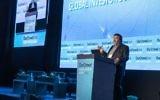 Jon Medved d'OurCrowd s'exprime lors d'un sommet global d'investisseurs (Autorisation)