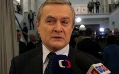 Piotr Glinski, le ministre de la Culture de la Pologne, le 12 novembre 2015, (Crédit : CC-BY-2.0/Wikimedia Commons)