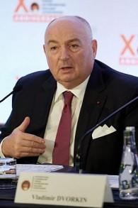 Viatcheslav Moshe Kantor, président du Forum annuel Luxembourg contre le nucléaire, lors de la dernière conférence à Paris le 9 octobre 2017. (Autorisation)