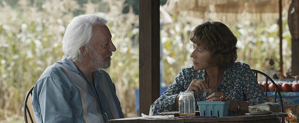 """Donald Sutherland et Helen Mirren dans """"l'Echappée belle"""" (Autorisation)"""