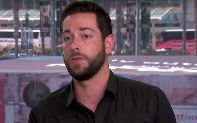 L'acteur Zachary Levi (Crédit : capture d'écran YouTube)