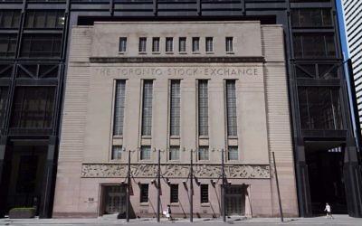 La bourse de Toronto (Crédit : Mikeinlondon, iStock by Getty Images)