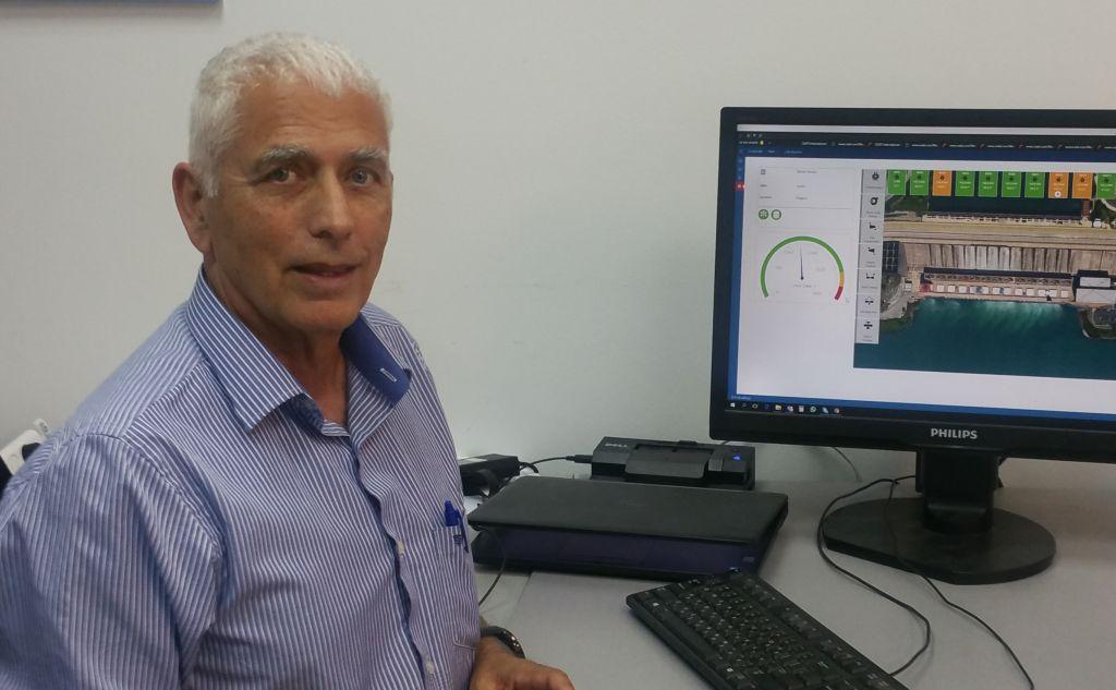 Doron Gover, ancien pilote de l'armée de l'air israélienne, chargé du développement de mPrest, une entreprise israélienne qui a développé le Dôme de Fer. (Crédit : mPrest)