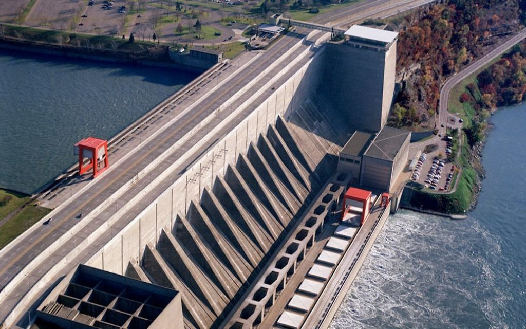 Le barrage Robert Moses, qui appartient au projet Niagara Power, à Lewiston, New York, où est installé le système de mPrest. (Crédit : autorisation)