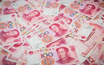 Illustration : des billets de 100 Yuan. (Crédit : iStock)