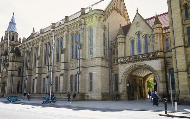 Photo d'illustration des bâtiments du collège de l'université de Manchester. (Crédit : iStock/Getty Images)