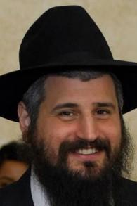Le rabbin Mendy Harlig, aumônier de la police de Las Vegas. (Crédit : Facebook)