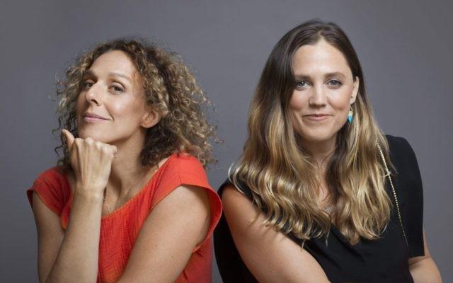 """Rachel Grady, à gauche, et  Heidi Ewing, les réalisatrices """"One of Us"""". (Crédit : Netflix)"""