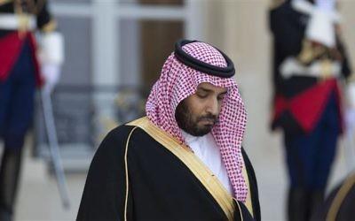 Mohamed ben Salmane Al Saoud, prince héritier d'Arabie saoudite. (Crédit : AFP)