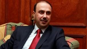 Mohammad Al Momani, Le ministre jordanien des Affaires médiatiques (Crédit : Autorisation)