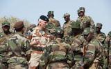 François Lecointre, chef d'état-major des Armées, au Mali en 2013. (Crédit : Wikimédia CC BY-SA 3.0)