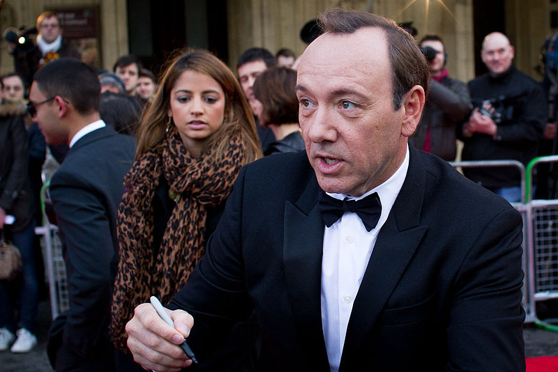 Kevin Spacey, en 2011 (Crédit : Richardc39/ CC BY SA 3.0)