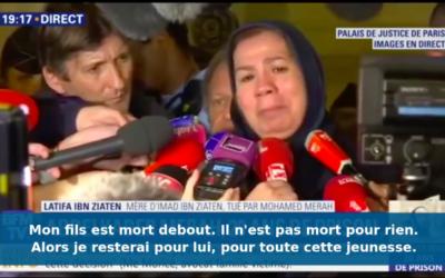 Latifa Ibn Ziaten (Crédit : Capture d'écran BFMTV)