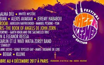 Affiche du festival Jazz'n Klezmer (Crédit : site officiel)