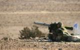 Illustration. Des soldats israéliens lancent un missile anti-char Spike lors d'un exercice d'entraînement. (Crédit : Rafael Advanced Defense Systems)
