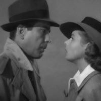Humphrey Bogart et Ingrid Bergman en 1942 dans Casablanca. (Crédit : Warner Bros Films)