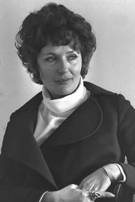La journaliste Sylvie Keshet en 1969 (Crédit : Fritz Cohen/Archive photo GPO)