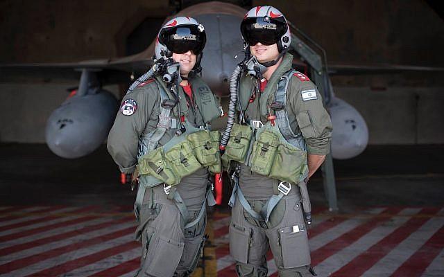 Des pilotes prennent part à l'exercice international Blue Flag au début du mois de novembre 2017. (Crédit : armé israélienne)