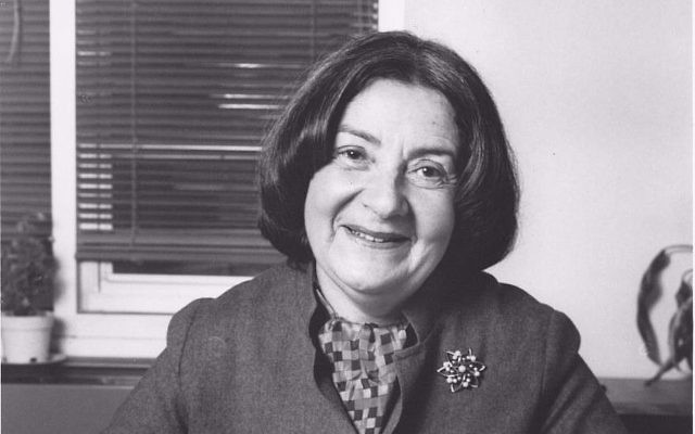 Tzipora Jochsberger, survivante de la Shoah, était professeur de musique. (Crédit : Kaufman Music Center)