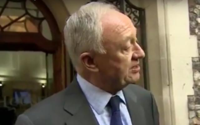 Ken Livingstone, ancien maire de Londres et haut fonctionnaire du Parti travailliste, le 30 mars 2017. (Crédit : capture d'écran/YouTube)