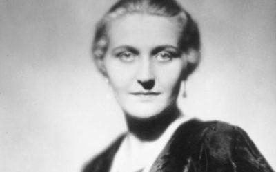 Magda Goebels, troisième femme de Joseph Goebbels, entretint une longue relation adolescente avec Victor Arlosoroff, poéte et sioniste (Crédit : domaine public)