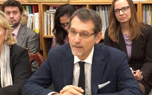 Capture d'écran d'une vidéo du maire de Bologne Virginio Merola. (Capture d'écran : YouTube)
