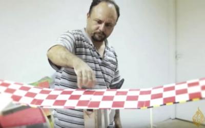 L'ingénieur tunisien en drones Mohammed Alzoari (Capture d'écran : Aljazeera/YouTube)