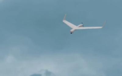 Un drone de type Orbiter 1K. d'Aeronautics Defense Systems Ltd. (Capture d'écran : YouTube/Practical Information)