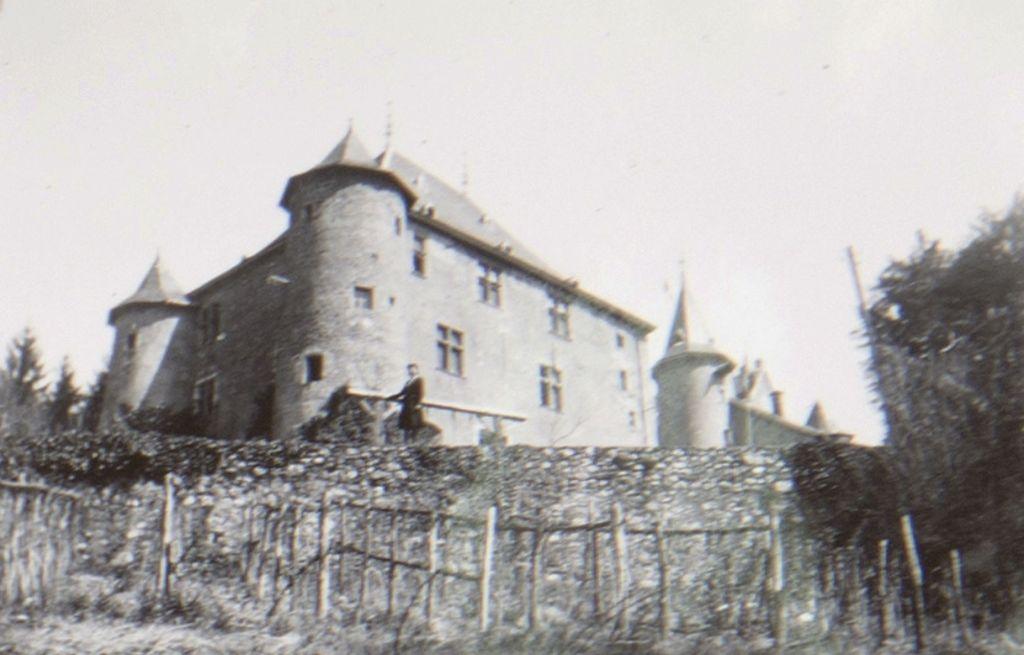 Le chateau d'Uriage (autorisation)
