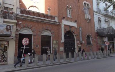 Le Musée de la Shoah de Buenos Aires, en Argentine. (Crédit : Photo par Mauricio V. Genta - CC BY-SA 3.0)