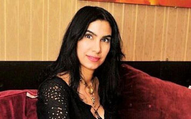 La chercheuse arabe palestinienne sur l'Holocauste Asfahan Bahloul (Crédit : Doron Golan)