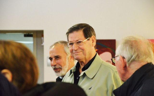 Haim Yavin, le 3 janvier 2013 (Crédit : CC BY 2.0 via Wikipedia)