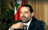 L'ancien Premier ministre libanais Saad Hariri donne sa première interview télévisée le 12 novembre 2017, huit jours après avoir annoncé sa démission (Crédit : Capture d'écran)