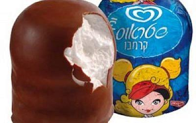 Le bonbon de l'hiver Krembo (Autorisation : Wiki Commons)