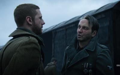 Un soldat américain juif fait prisonnier face à un officer allemand dans le dernier Call of Duty (Crédit: capture d'écran Youtube/Call of Duty)