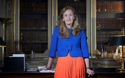 La ministre de la Justice française à Paris, le 15 décembre 2017. (Crédit : AFP/ Joel SAGET)