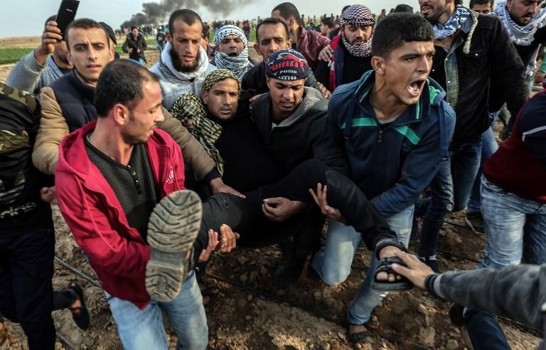 Violents affrontements entre Palestiniens et forces de sécurité israéliennes