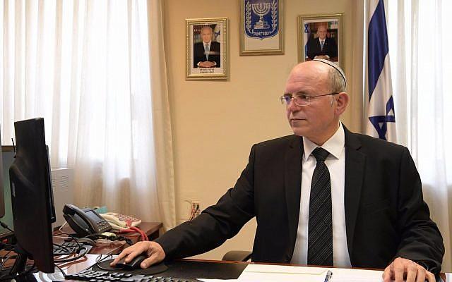 Meir Ben-Shabbat, conseiller à la sécurité nationale (Amos Ben Gerschom / GPO)