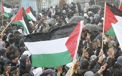 Manifestation dans la ville arabe israélienne de Umm al-Fahm (Roni Schutzer / Flash90)