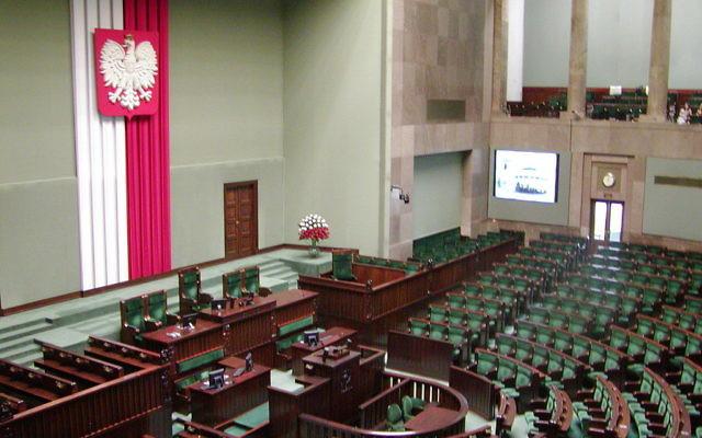 Vue sur la Diète de la république de Pologne - chambre basse du Parlement polonais. (Crédit : Wikimediacommons/CC BY )