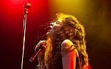 La chanteuse Lorde au festival Lollapalooza, en Grande Bretagne en 2014. (Crédit : CC BY Liliane Callegari/Flickr)