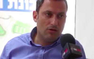 Alon Davidi (Crédit : Capture d'écran YouTube)