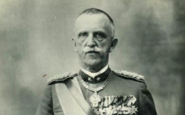 Victor Emmanuel III (Crédit : domaine public)