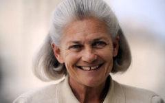 Les dernières années ont vu Elisabeth Badinter s'engager de manière de plus en plus active contre les actes antisémites (Crédit: Wikimedia commons/Anaaaanaaas)