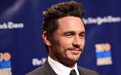 James Franco, New York, 27 novembre 2017 (Crédit : Dimitrios Kambouris/Getty Images via JTA)