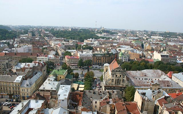 Lviv, Ukraine (crédit : CC BY SA alexeyklyukin / Flickr)